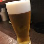 山之内 - 生ビール♪