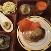 京都センチュリーホテル - 料理写真:ステーキとスモークサーモン