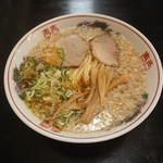 中華そばさとう - 背脂煮干し(平打麺)