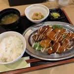 115405508 - 鶏チリマヨ定食【2019.9】