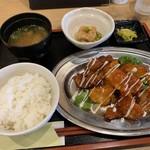 115405511 - 鶏チリマヨ定食【2019.9】