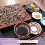 常陸手打蕎麦・うどん うち田 - 「十割蕎麦 (限定5食) ¥1.000」