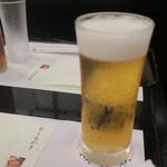 はま吉 - ピンボケしたビール