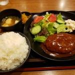 ストックトン - デミグラスハンバーグ定食800円!