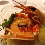 Ristorante KAPPAS - 赤座海老ほか甲殻類のゼリー寄せ