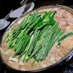 Hakatamotunabeyamanaka - もつ鍋醤油。