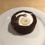 115419689 - チョコレートロールケーキ