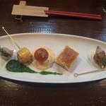 串揚げ 串の実 - 前菜