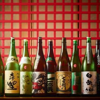 北陸自慢の日本酒をご堪能ください