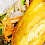 ティティカフェ - 料理写真:ベトナムのサンドイッチ、バインミー‼️