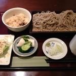 石挽蕎麦 松月 - 混ぜご飯セット