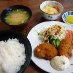 すさき食堂 - 料理写真:白身フライ定食