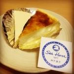 シーホース - チーズケーキ食べ比べ。