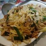 中国料理龍飯店 - 料理写真:・韮菜炒肉片 650円