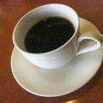 エルミタージュ - 食後のドリンクは「有機コーヒー」。