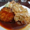 ハンバーグ&洋食 ベア - 料理写真:Bランチ850円