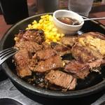 いきなり!ステーキ - 自分で好きな焼き具合にします