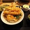 料理屋 兆治 - 料理写真:「よくばり天丼(¥1,000税込)」