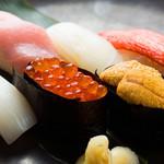 銀座和食 紬 - 寿司
