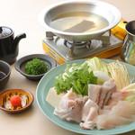 銀座和食 紬 - ふぐ鍋