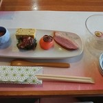 レストラン駄繰里 - 夕飯の前菜