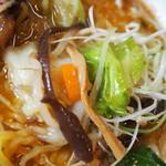 けやき - チャーシューラーメン(野菜)