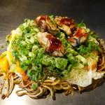 お好み焼き 鉄板焼き こひなた - 牡蠣入り(1,280円)