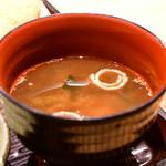 ひふみ - 【ランチ定食@税込1,000円】赤出汁