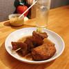 博多のおでん - 料理写真:『すじ&餃子巻き』しゃんにシュワシュワたい♪