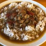 カトマンドゥ - チキンカレーライス