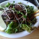 お好み焼き 馬之助 - 焼肉サラダ丼