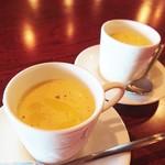 フランス家庭料理  グランダミ - ランチコース グラン・ダミ お口始めのスープ (1)