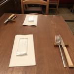 Burassurirurion - テーブルセッティング