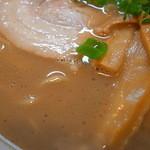 11546033 - 平均的な一久のミドル級スープ(岬店)