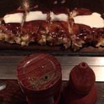 お好み焼き いまり - 豚玉&青海苔&七味