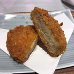 ソバ&テッパンヤキ ヤブヤ - 日替わりそば定食 コロッケ