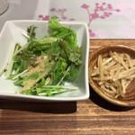 ソバ&テッパンヤキ ヤブヤ - 日替わりそば定食