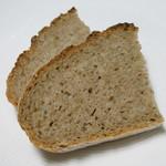 ブーランジェリー アニエス - 料理写真:パン・ドゥ・セーグル(1/4)(2/7カット後)