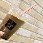 115469344 - タピオカ黒糖ほうじ茶ラテ