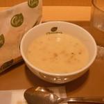 チャウダーズ セレクトスープ! - モーニングスープセット:500円