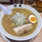札幌らーめん 輝風 - 味噌ラーメン