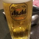 焼肉 充 - 生ビール