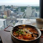 富士屋 グリル バー - 豊田市の景色を眺めながらのランチ