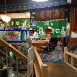 清寿司 - 店内入った辺り