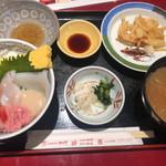 115478516 - 海鮮丼セット