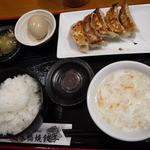 日本橋焼餃子 - 餃子定食 餃子5個