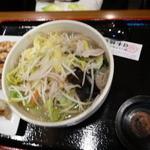 日本橋焼餃子 - タンメン と 餃子5個セット