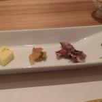 竹の里 - 料理写真:前菜両方のコース