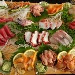 一寿司 - 料理写真:お刺身盛合せ(4人盛り)