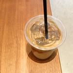 コーヒー スタンド テンガチャ - アイスラテ